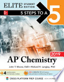 5 Steps to a 5  AP Chemistry 2018 Elite Student Edition