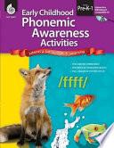 Early Childhood Phonemic Awareness Activities