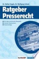 Ratgeber Presserecht