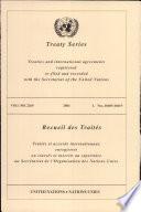 Treaty Series 2269 I