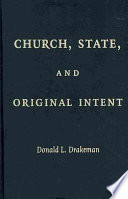 Church  State  and Original Intent