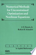 Numerical Methods For Unconstrained Optimization And Nonlinear Equations book