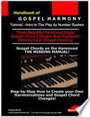 Handbook of Harmony   Gospel   Jazz   R B  Soul  Reference   Part 1