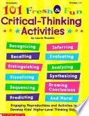 101 Fresh   Fun Critical Thinking Activities
