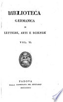 Biblioteca germanica di lettere, arti e scienze