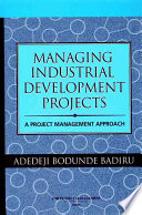 Managing Industrial Development Projects