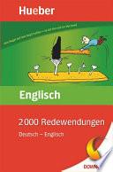 2000 Redewendungen Deutsch     Englisch