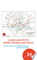 London post 2010 in British Literature and Culture
