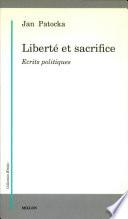 illustration du livre Liberté et sacrifice