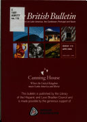 British Bulletin of Publications on Latin America  the Caribbean  Portugal and Spain
