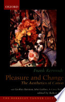 Pleasure And Change : debate in academic circles for over fifteen...