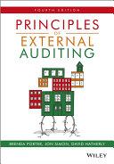 Principles of External Auditing