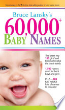 60 000  Baby Names
