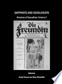 Sapphists and Sexologists; Histories of Sexualities