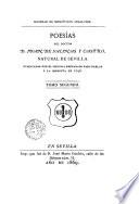 Poesías del doctor D. Juan de Salinas y Castro, natural de Sevilla