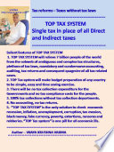 Tax Reforms Taxes Without Tax Laws