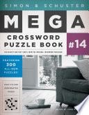 Simon   Schuster Mega Crossword Puzzle Book  14