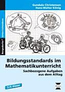 Bildungsstandards Mathematikunterricht - 3./4. Kl.