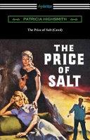 The Price of Salt  Carol