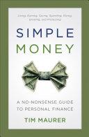 download ebook simple money pdf epub
