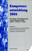 Kompetenzentwicklung 2006