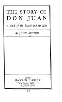 The Story Of Don Juan book