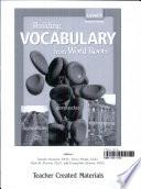 Building Vocabulary  Level 9 Kit