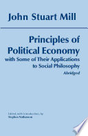 Principles of Political Economy (Abridged)