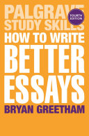 download ebook how to write better essays pdf epub