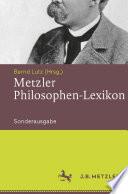 Metzler Philosophen-Lexikon