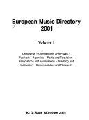 European music directory