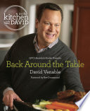 Back Around the Table  An  In the Kitchen with David  Cookbook from QVC s Resident Foodie
