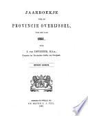 Jaarboekje voor de provincie Overijssel