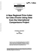 A New Regional Price Index for Cote d'Ivoire Using Data from the International Comparisons Project