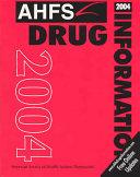 AHFS Drug Information 2004
