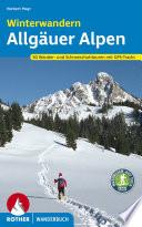 Winterwandern Allg  uer Alpen