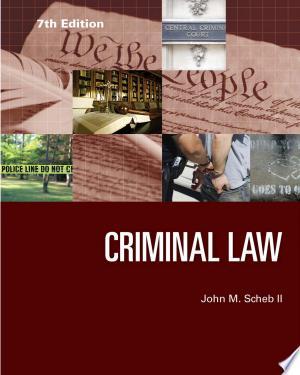 Criminal Law - Isbn:9781285459035 img-1