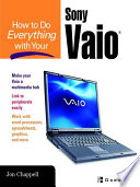 How To Do Everything With Your Sony Vaio R