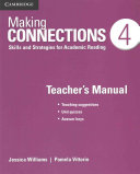 Making Connections Level 4 Teacher s Manual