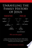 Unraveling the Family History of Jesus Book PDF