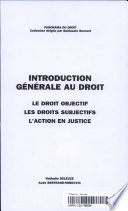 Introduction g  n  rale au droit