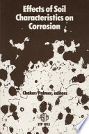 Effects of Soil Characteristics on Corrosion