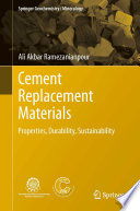 Cement Replacement Materials