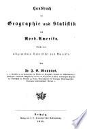 Handbuch der Geographie und Statistik f  r die gebildeten St  nde