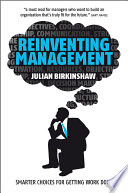 Reinventing Management : failure of regulation or economic policy; it was...