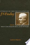 Studies in the Philosophy of J  N  Findlay