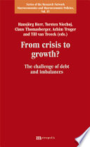 From Crisis to Growth