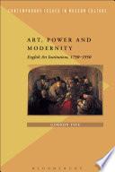 Art Power And Modernity