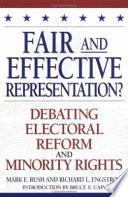 Fair and Effective Representation