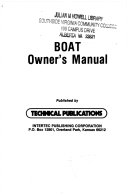 Boat Owners Manual